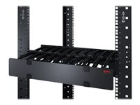 APC Horizontal Cable Manager Single-Sided with Cover kabelhållarsats för rack - 2U AR8600A